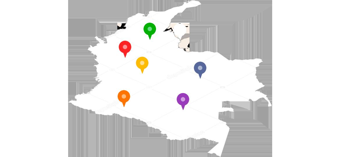 Colegios-map